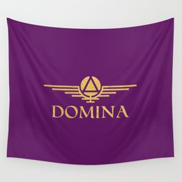 Call me Domina Wall Tapestry