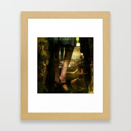 Breakaway. Framed Art Print