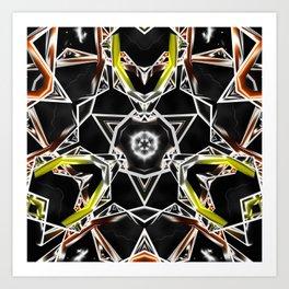 Balanced Darkness Art Print
