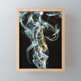 Smoke Design Art Framed Mini Art Print