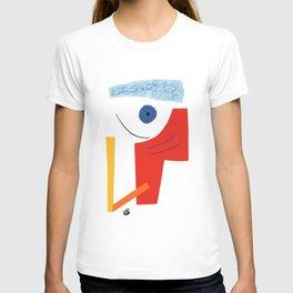 Abstract face. T-shirt