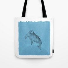 hammer shark Tote Bag