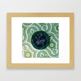 Storm in a Tea Cup Framed Art Print