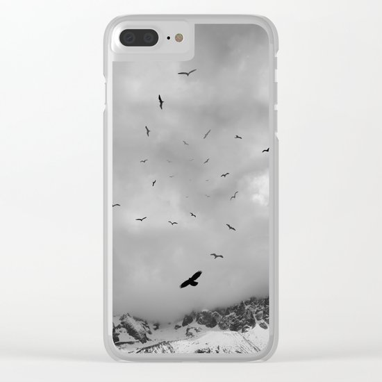 Sacred Flight Clear iPhone Case