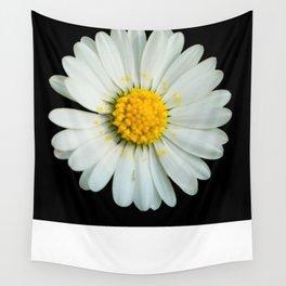 White daisy Wall Tapestry