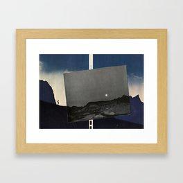 Moon Walking Framed Art Print