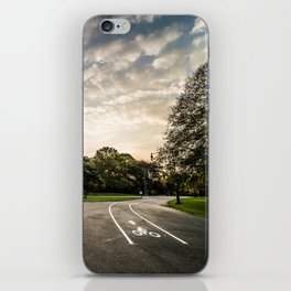 Brooklyn park entrance/exit iPhone Skin