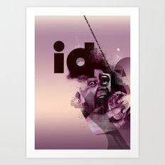 freud's id Art Print