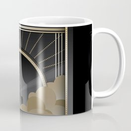 Art deco design V Coffee Mug