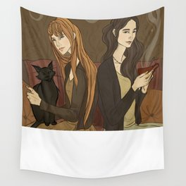 The Owens Sisters Wall Tapestry