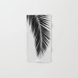 Palm Leaf Black & White I Hand & Bath Towel