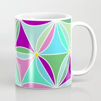 quilt Mugs featuring june quilt by Ariadne