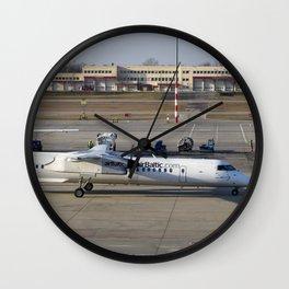 Air Baltic Bombardier Dash 8 Q400 Wall Clock
