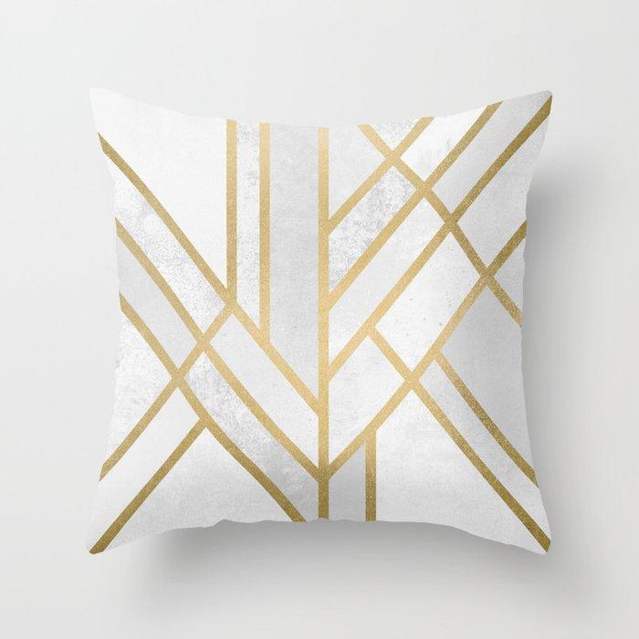 Art Deco Geometry 2 Deko-Kissen