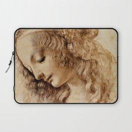 "Leonardo da Vinci ""Woman's head"" 3. Laptop Sleeve"