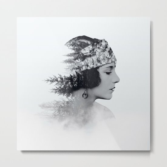 about today Metal Print