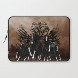 Awesome wild horses Laptop Sleeve