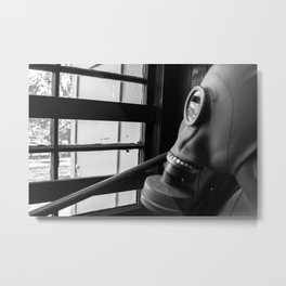 Don't go outside. Ever. Metal Print