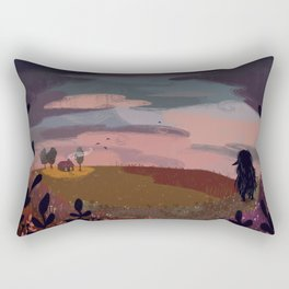 coming home Rectangular Pillow