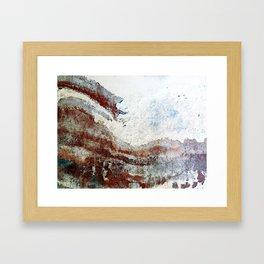 Wall Wave Framed Art Print