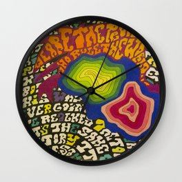 Powerman Wall Clock