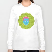 fresh prince Long Sleeve T-shirts featuring Carlton - The fresh prince of Bel-Air by Kuki