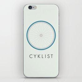 Cyklist iPhone Skin