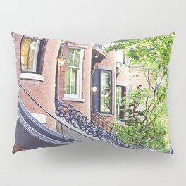 South End Neighborhood Stoops Pillow Sham