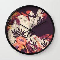death Wall Clocks featuring Harbors & G ambits by Teagan White