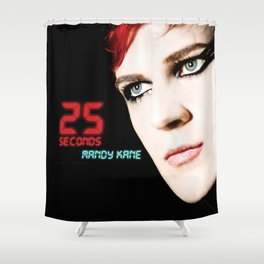25 SECONDS - EP ARTWORK Shower Curtain