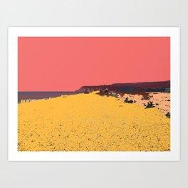 Winchelsea Beach Art Print