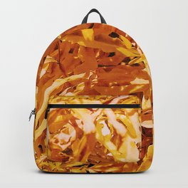 Yellow Garden Flowers Backpack