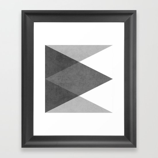black and white triangles by herart