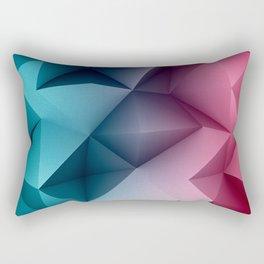Polymetric Ocean Floor Rectangular Pillow