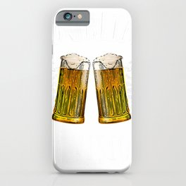 Funny Beer Shirt Dublin My Vision T-Shirt iPhone Case