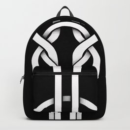 white knot Backpack