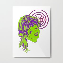 Psycho-Drama Queen Metal Print