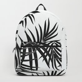 Palm Leaves Pattern Summer Vibes #2 #tropical #decor #art #society6 Backpack