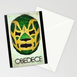 Fishman: OBEDECE Stationery Cards