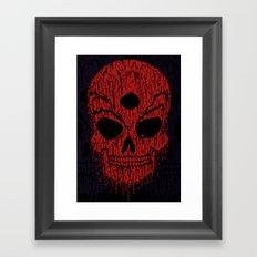 The Bloody Bloodskull of Blood Framed Art Print