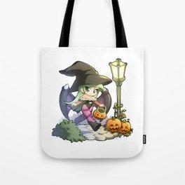 Halloween Morrigan Tote Bag