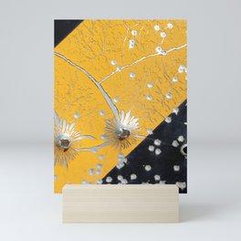 Shot up Flowers II Mini Art Print