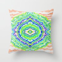 geology Throw Pillows featuring Geology by Smiley's Dreamboat