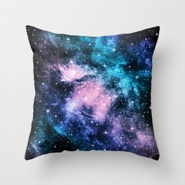 Unicorn Galaxy Nebula Dream #1 #decor #art #society6 Throw Pillow