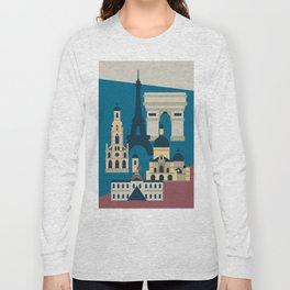 Paris - Cities collection  Long Sleeve T-shirt