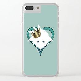 Royal Sora Clear iPhone Case
