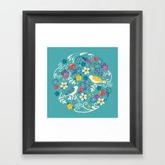 Garden Birds Framed Art Print