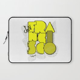 California San Francisco Laptop Sleeve