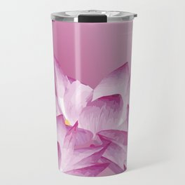 Lotos Flowers Pink Travel Mug