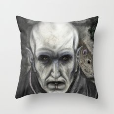 Orlok the Plaguebringer Throw Pillow